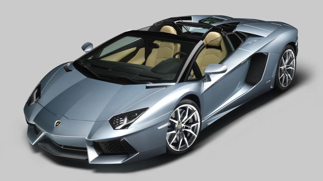 Lamborghini Aventador. Picture: Supplied