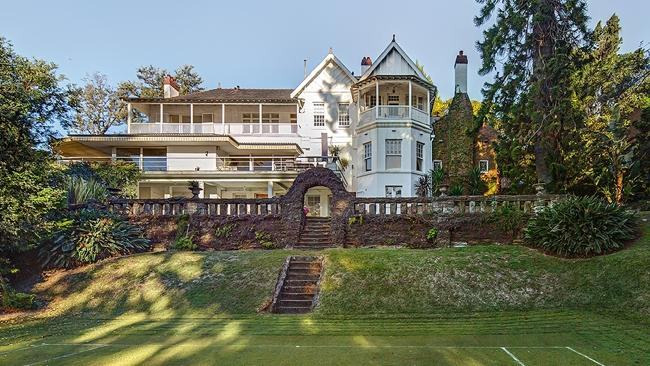The Double Bay mansion. Picture: Supplied