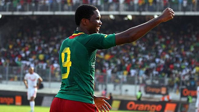 Cameroon striker Samuel Eto'o has been on form for Chelsea.