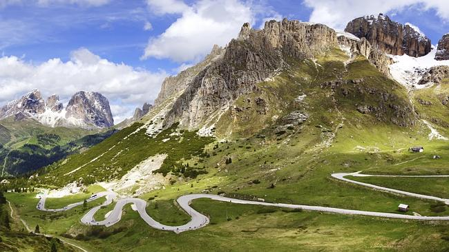 Trekking the Dolomites is one of the intense adventures that take in breathtaking views.