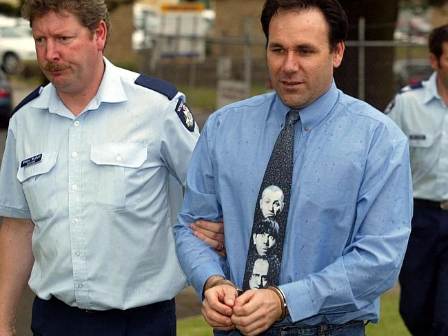 Even Slattery's choice of tie appeared to mock his situation.