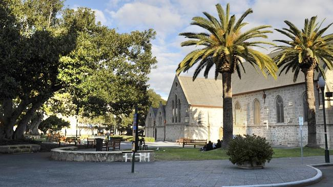 Fremantle's Kings Square. Picture: Theo Fakos