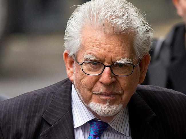Australian Rolf Harris strongly denied anything wrong during his high profile trial for i