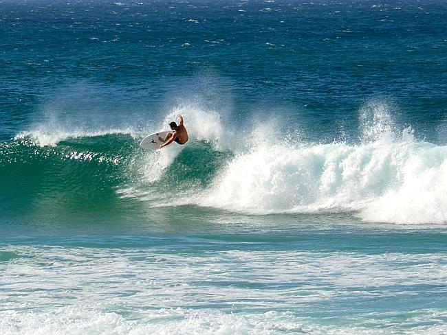 Local surfers will put on a display that you can enjoy without leaving your campsite.