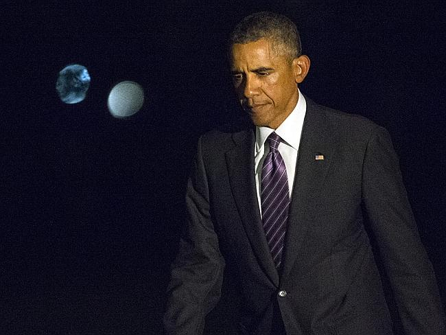 Obama has committed to reducing the number of nuclear warheads to zero. Pic: AP.