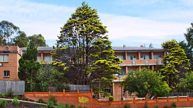 A former motel in the Blue Mountains, which Nathan Birch has converted into 40 apartments