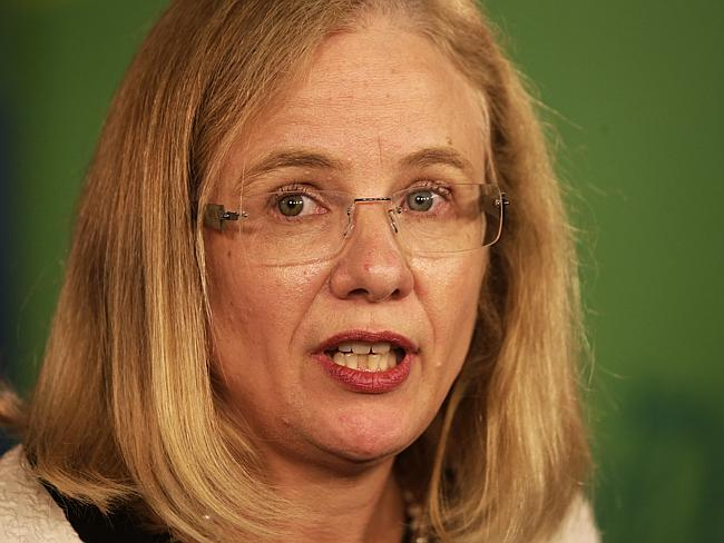 Queensland Health Chief Health Officer Dr Jeannette Young. Picture: Anthony Weate