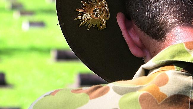 A brave soldier has spoken out revealing why he's ashamed to serve in the role he was onc