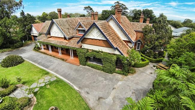 Frank Downer built Dawley House in 1905. Source: Supplied