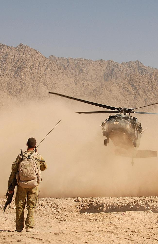 Rapid reaction ... Keeping soldiers alive long enough for help to arrive is the goal of a