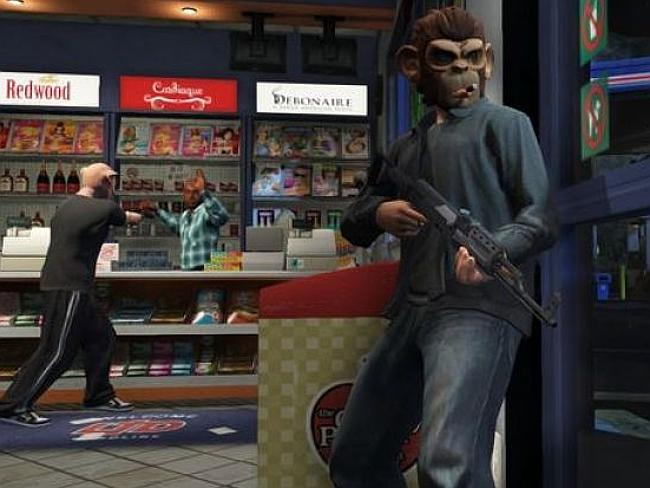 Players hold up a gas station in GTA5. Lovers of the game say the petitioners should leav