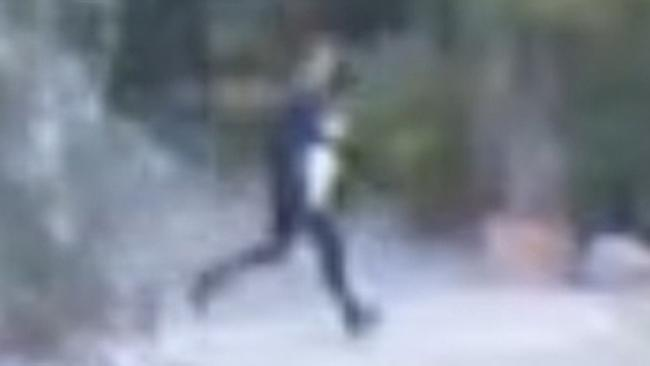 A still from of the man police want to speak to.