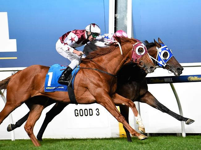 Patrick Moloney and Chill Party (rails) combine to edge out Brad Rawiller and Stratum Sta