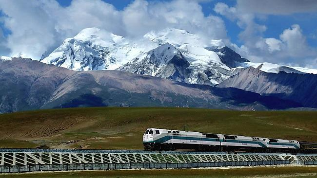 The Trans-Siberian railway runs through many exotic locations on its 800km journey.