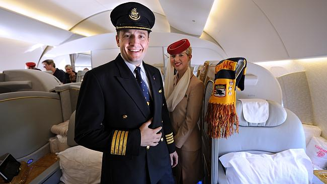 Needed ... Middle Eastern airlines such as Emirates are among those most at risk from the