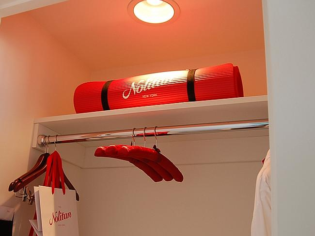 Free yoga mats are provided at the Nolitan Hotel in NYC. Picture: Britt Reints/Flickr