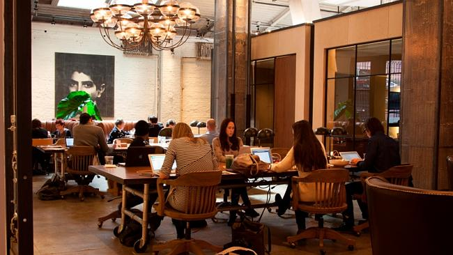 One of the many open workspaces at NeueHouse. (Photo: NeueHouse Madison Square)