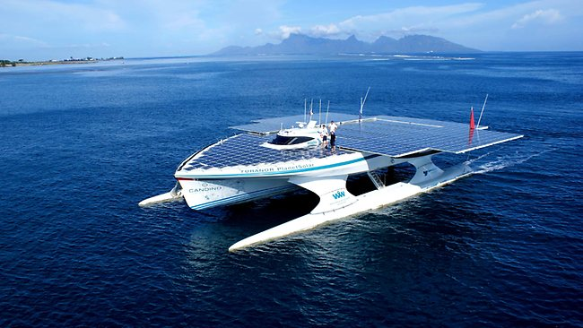 solar power boat