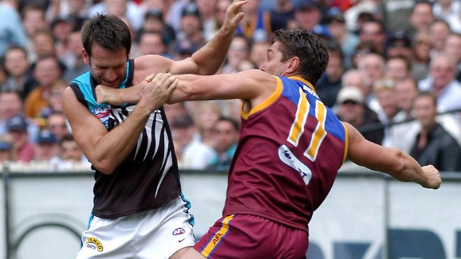 How DARE you kick goals on us! We're the Brisbane Lions, dammit!
