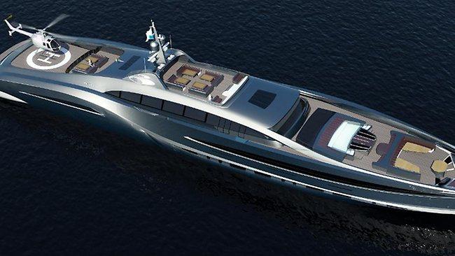 Sovereign super yacht