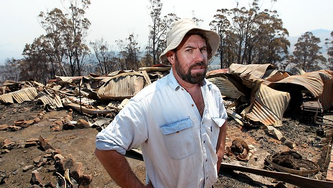 Dunalley and Copping after the fires