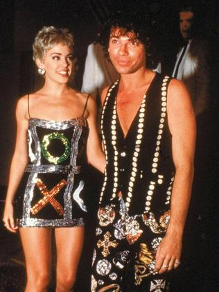 Kylie Minogue and Michael Hutchence in 1989. Picture: Mick Hutson/Redferns