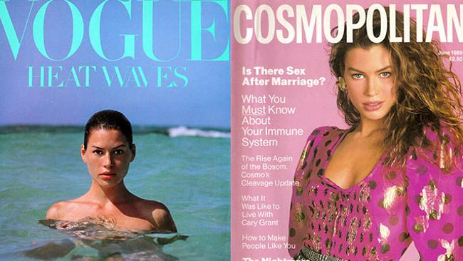 Carre Otis, covergirl. Pictures: Supplied