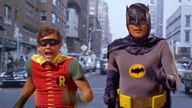 This retro Batman might not be the right solution to Marseille's crime problem, however.
