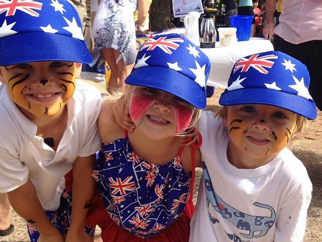 Young patriots.