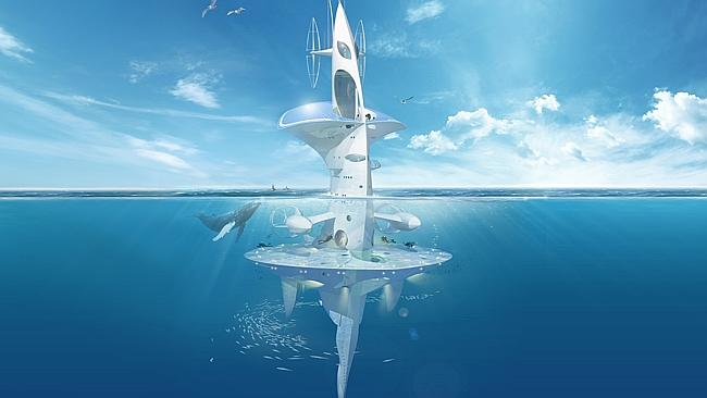 Oceanographic research right ahead! The SeaOrbiter is a multipurpose super vessel designed to search the world's...