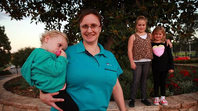 Nicole Wadeley is worried about the knock on effect for her family.