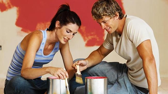 House painting is expensive in Brisbane. Picture: Thinkstock.