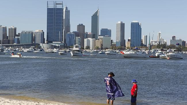 Crowds could soon flock to the shores of South Park to enjoy the Australia Day celebratio