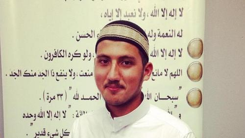 Facebook image of Ahmad Moussalli who is believed to have been killed in Syria.