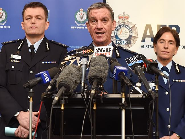 NSW Police Commissioner Andrew Scipione said police would ramp up their presence in the w