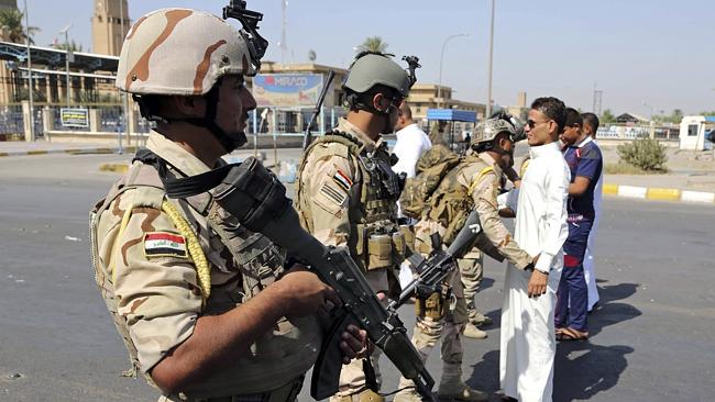 Iraqi Army soldiers are paying officers their full salaries to let them quit unreported.