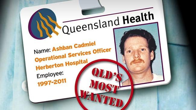 Luke Hunter, using the name Ashban Cadmiel, worked for Queensland Health for 13 years.