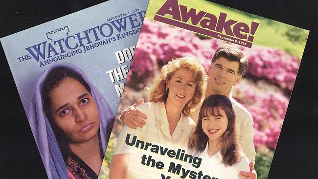 Jehovah's Witnesses magazines The Watchtower and Awake!