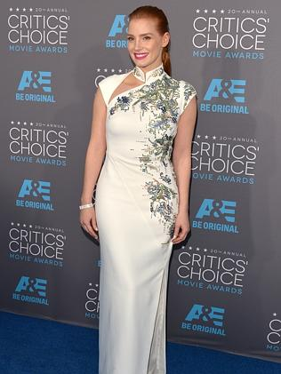 Critics Choice Honoree Jessica Chastain.