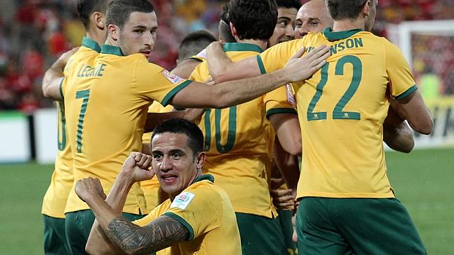 Yet again, it was Tim Cahill to the rescue.