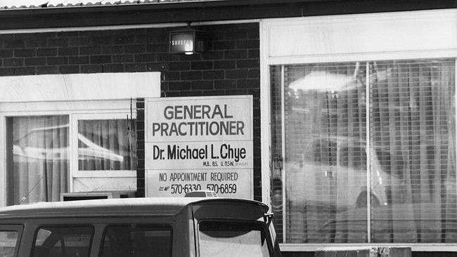 Dr Michael Chye was a millionaire and prominent Sydney doctor.