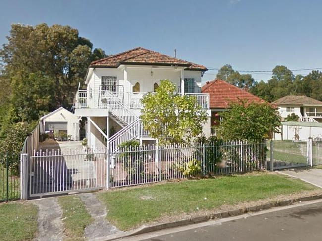The Fairfield house from the outside. Picture: Google