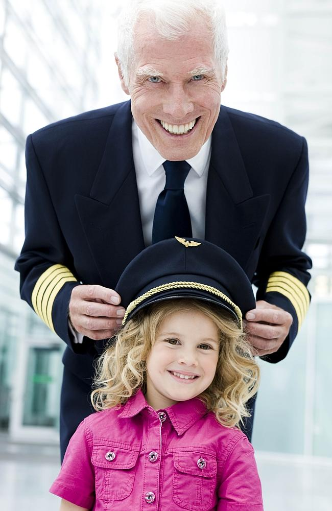 Pilots cherish the time they have with their families.
