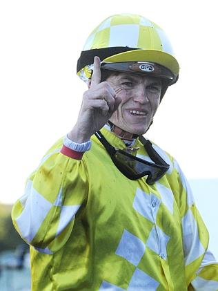Craig Williams holds a slender lead in the Melbourne jockeys' premiership. Picture: Simon