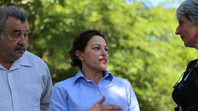 CONSULTATION: Deputy Premier Jackie Trad was today (FRI) due to either approve or reject