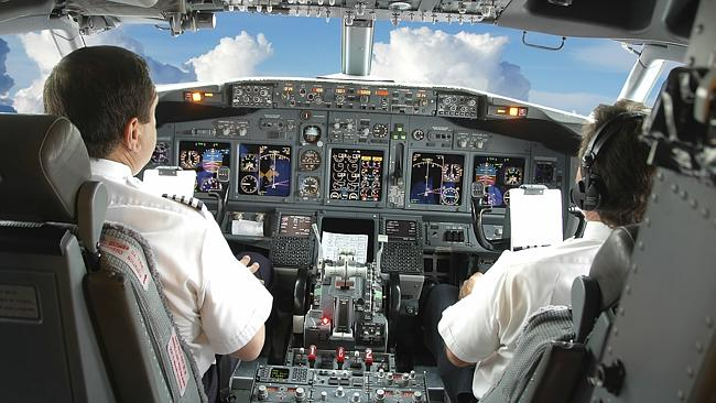 In demand ... An estimated 533,000 new pilots will be needed in the next two decades. Pic