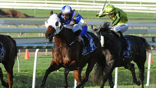 Emma Ljung showed her potential with a cool ride on Tukiyo at Doomben on Saturday.