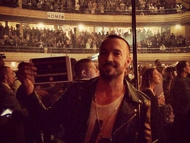 The 'rock star' Hillsong pastor Carl Lentz. Picture: Instagram