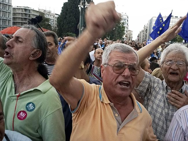 Greece has imposed capital controls with the banks being closed until the referendum and