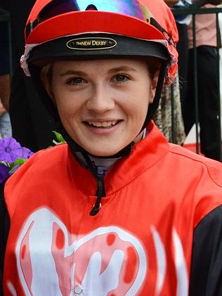 Jockey Caitlin Forrest died after a fall at Murray Bridge in October 2014.